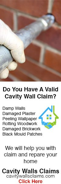 Cavity Walls Claims